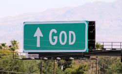 Foto: 'For God, follow signs' door Quinn Dombrowski (licentie: CC BY-SA 2.0)